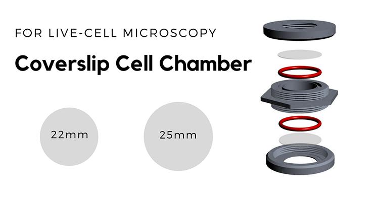 Coversli Cell Chamber SC15032 coverslip size