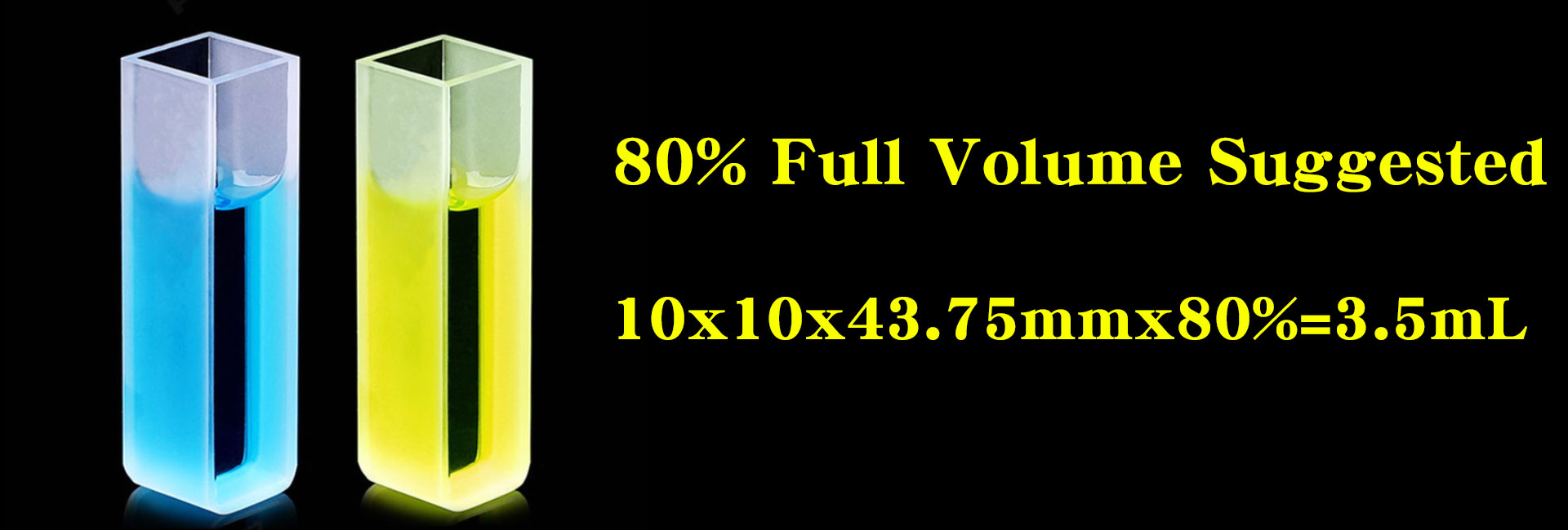Cuvette Volume-Fill 80 Full