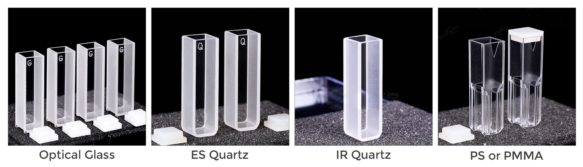 Different Cuvette Material Product Comparision