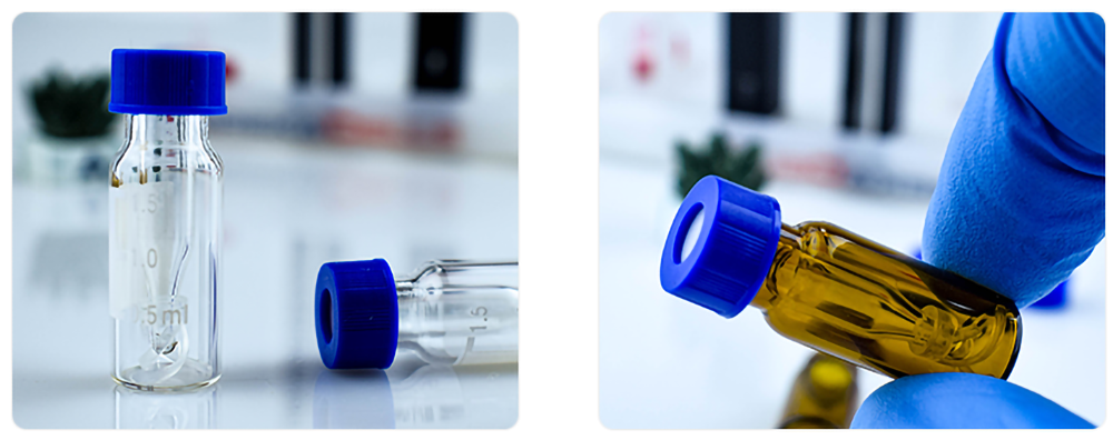 2ml hplc vial claer and amber