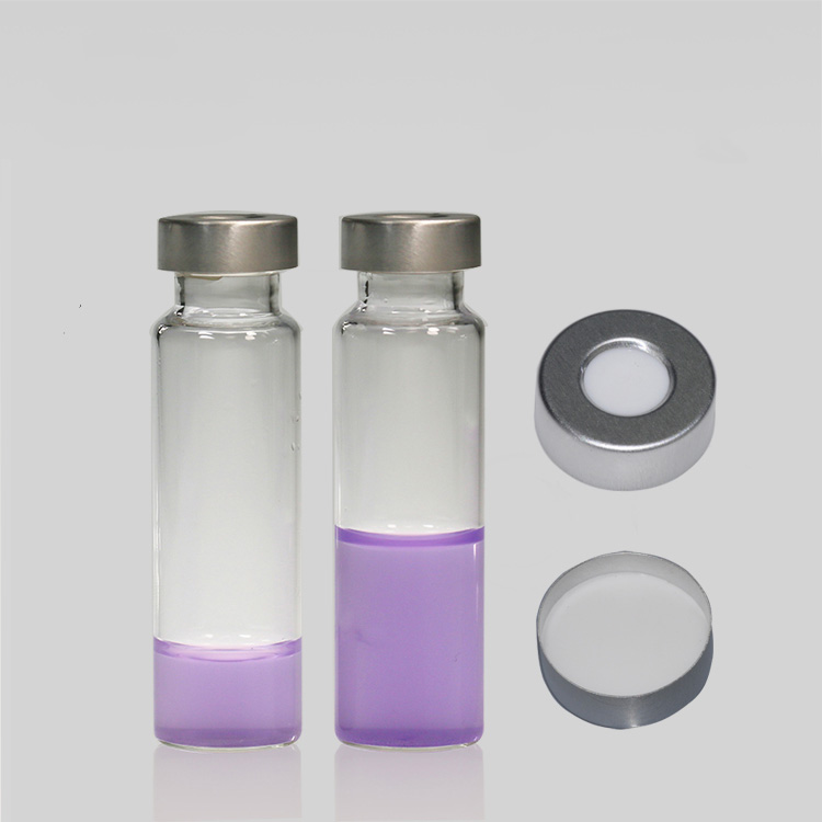 crimp vial and cap