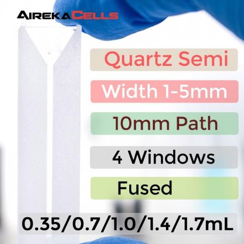 10mm fused semi-micro cuvette